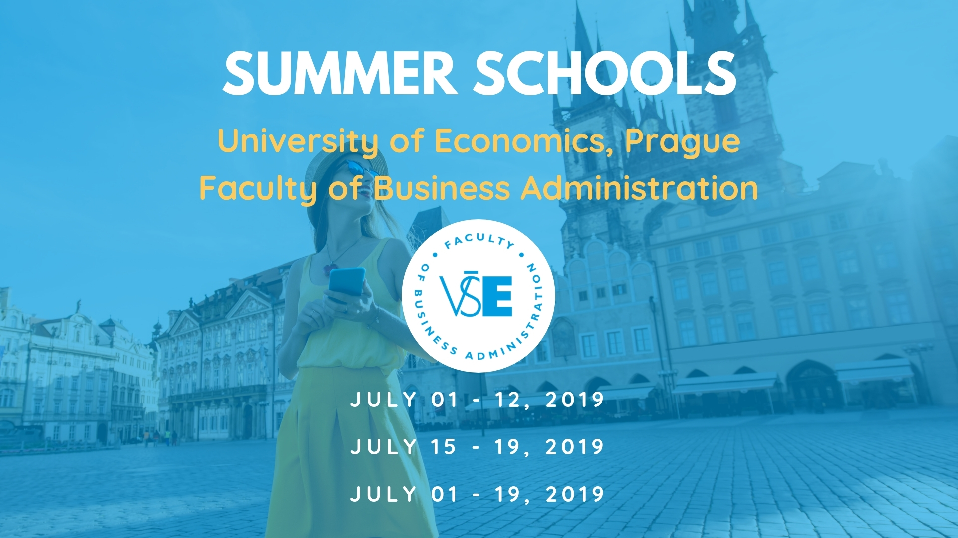 Summer Schools at the Faculty of Business Administration, University of Economics, Prague