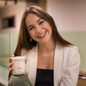 BBA Student Michala Santusová in Forbes.sk about her Up-and-Coming Business Lavina