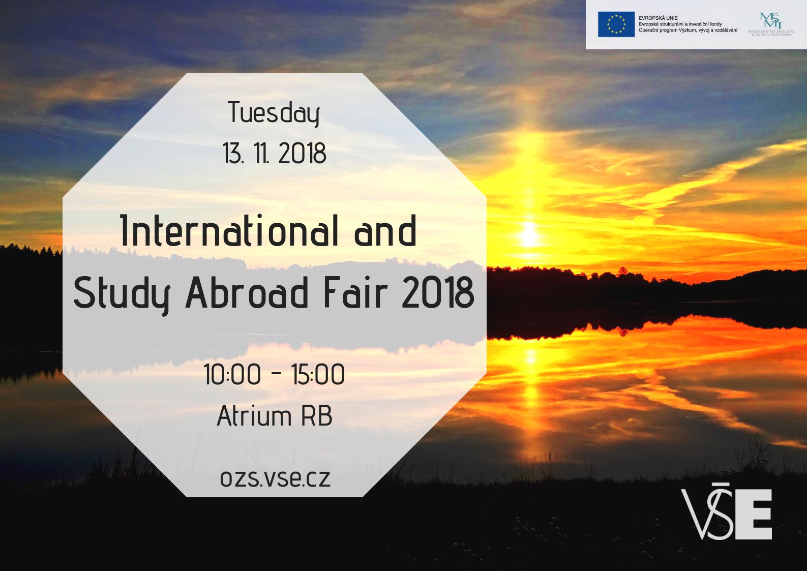 International & Study Abroad Fair 2018