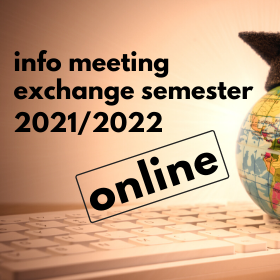 Online Information Meeting for Students Interested in Exchange Programme Abroad in the AY 2021/2022