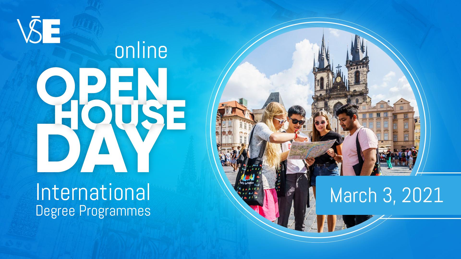Open Day of International Programmes /Online, March 3, 2021/