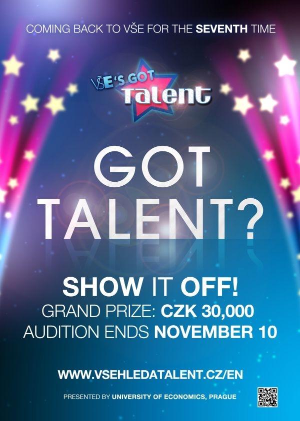 VŠE's got talent 2018