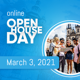Open Day of International Programmes /Online, March 3, 2021/